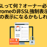 SSLって何?というオーナー必見!Chromeの非SSL警告表示は悪魔の表示になるかもしれない