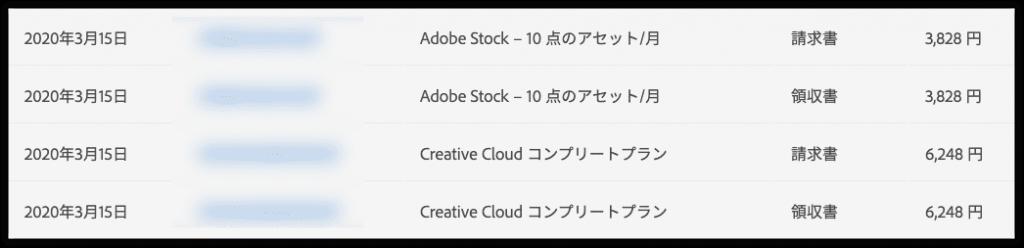 デザインやWEBを仕事にしている人にはなくてはならないアプリケーションです。私にとっても毎日使う大切なアプリなんですが、私の場合Adobe stockも使っているので両方合わせると毎月のサブスクリプション料金が1万円越え!